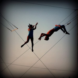 Trapeze Artist and Change Master